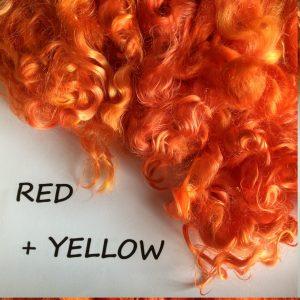 Kallfärg RED – RÖDORANGE