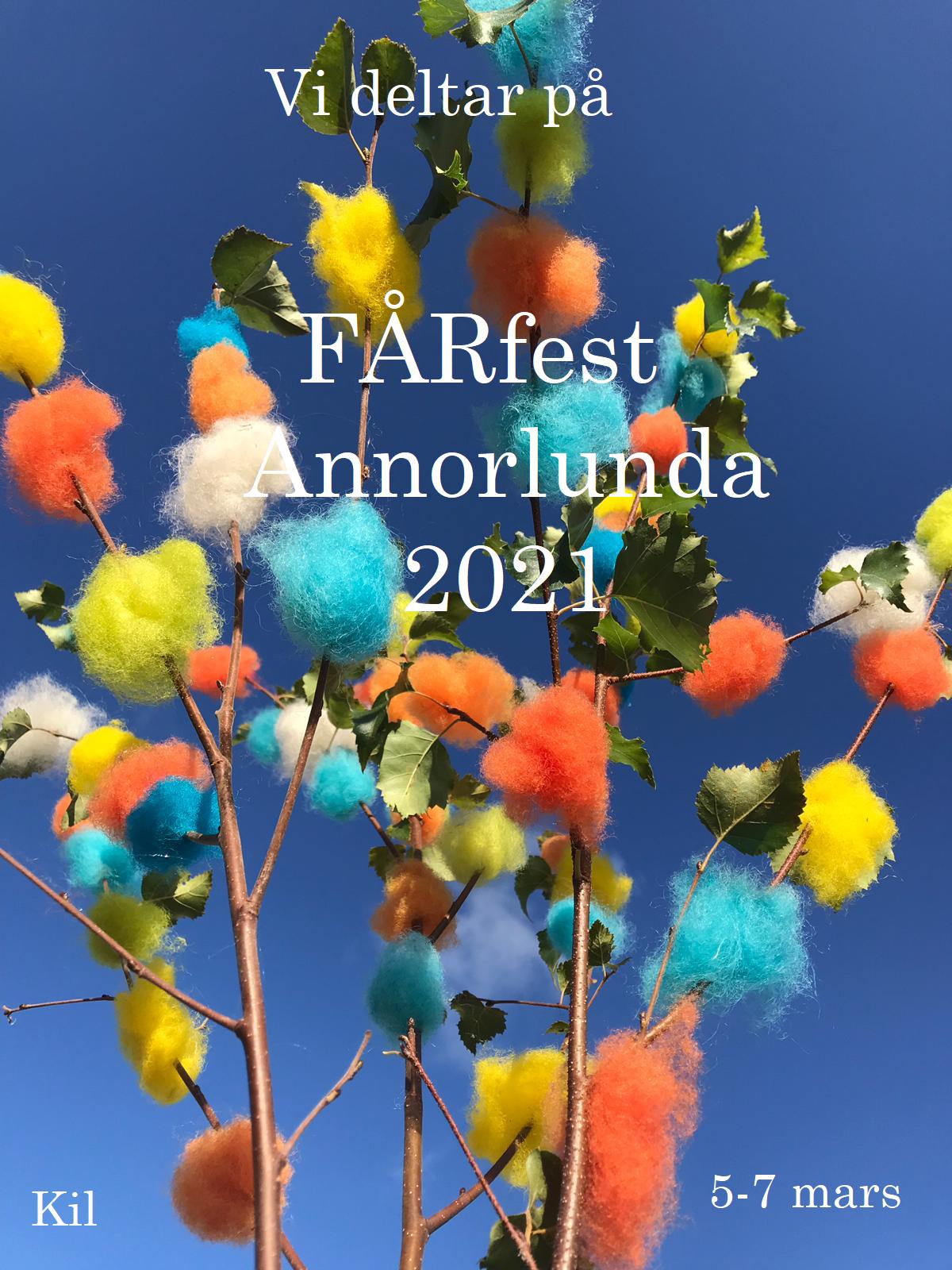Vi deltar på FÅRfest Annorlunda 5-7 mars 2021